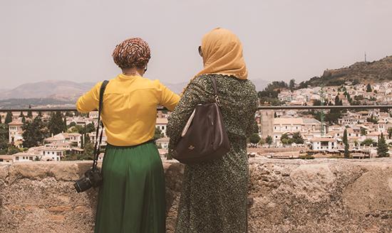 Turismo en la Alhambra de Granada