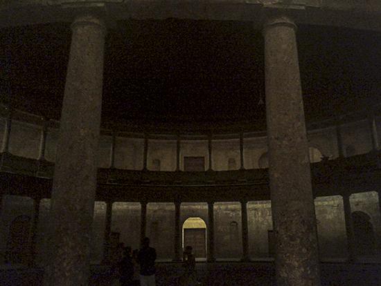 Fotografía nocturna Palacio de Carlos V