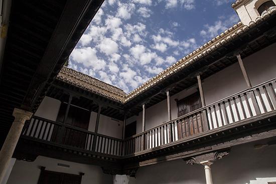 Casa del Chapiz en el barrio del Albaicín en Granada