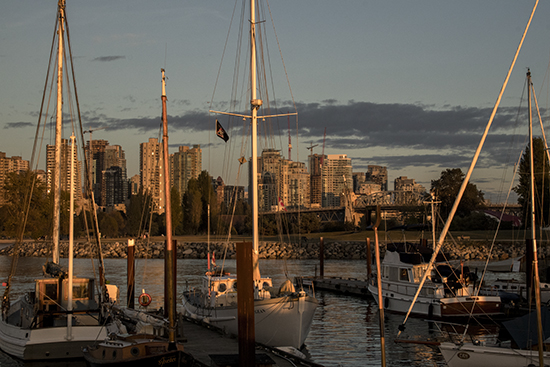 puerto deportivo Vancouver
