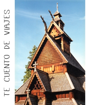 Iglesia de Gol Noruega Te cuento de viajes CVT