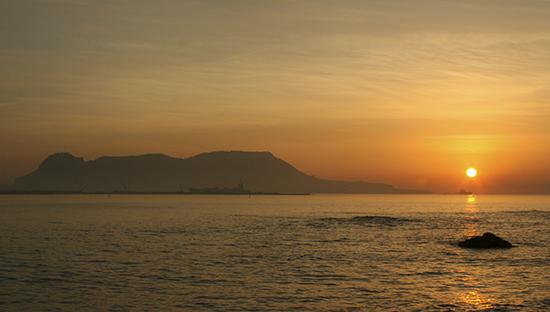 Gibraltar amanecer