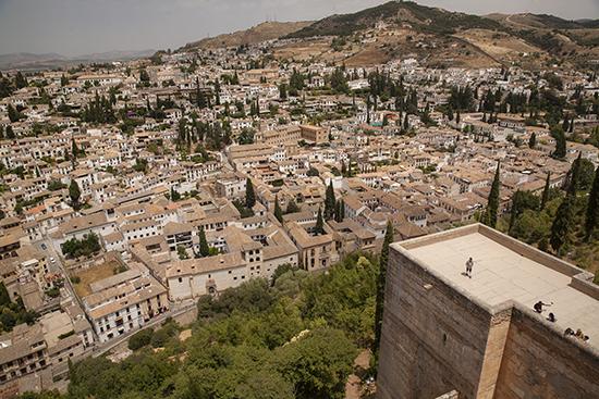vistas desde la Torre de la Vela