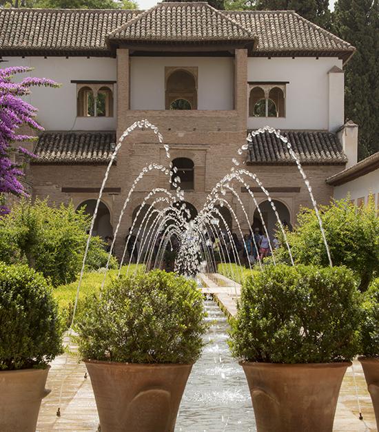 patio de la acequia Generalife
