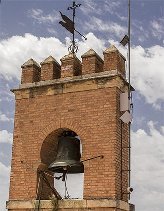 campana de la torre de la Vela Granada