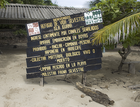 Refugio de vida silvestre Isla Iguana