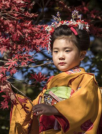 traje tradicional japones