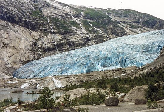 glaciares en Noruega