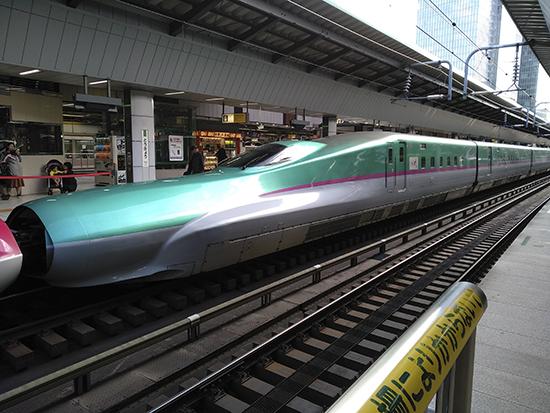 Shinkansen en Tokio