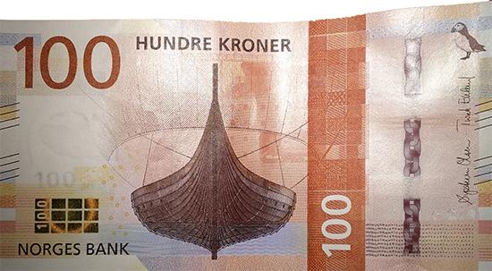 los vikingos en billetes