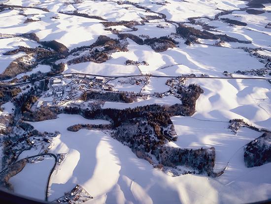 fotos tomadas desde el avión Noruega