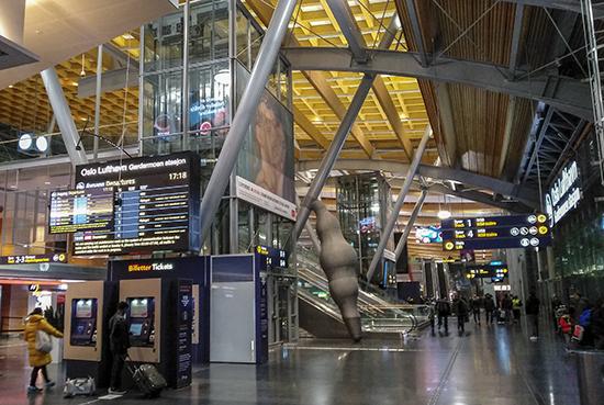 aeropuerto Gardermoen Oslo
