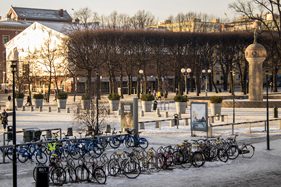 bicicletas en Oslo