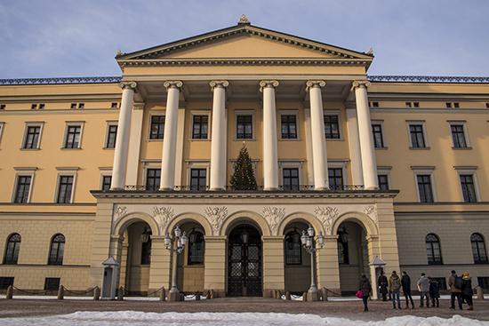 cambio de guardia en Oslo