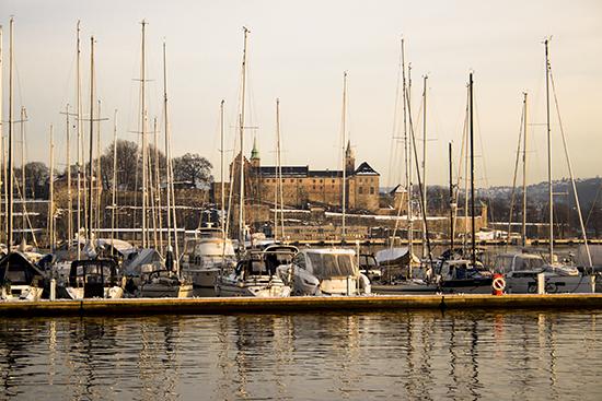 muelle en Oslo
