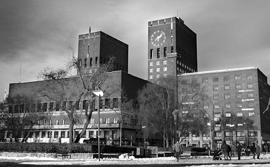 Ayuntamiento Oslo Noruega
