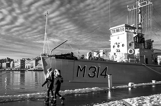 barco en Oslo