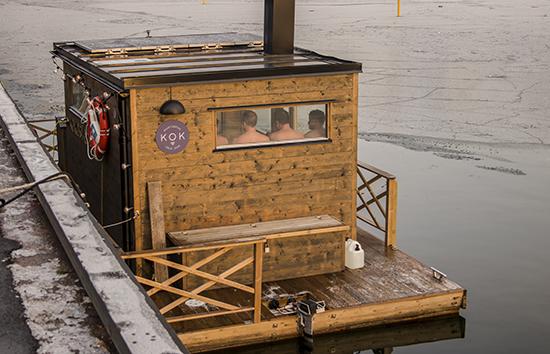 sauna en el mar Oslo