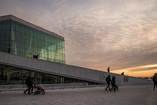 edificio de la opera Oslo
