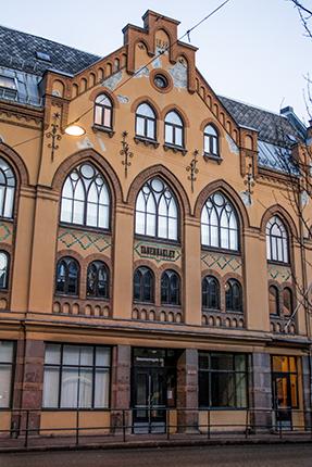 calles y edificios de Oslo