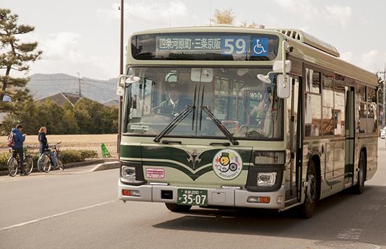 buses en Kioto