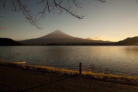 atardecer en Fuji noviembre Japón