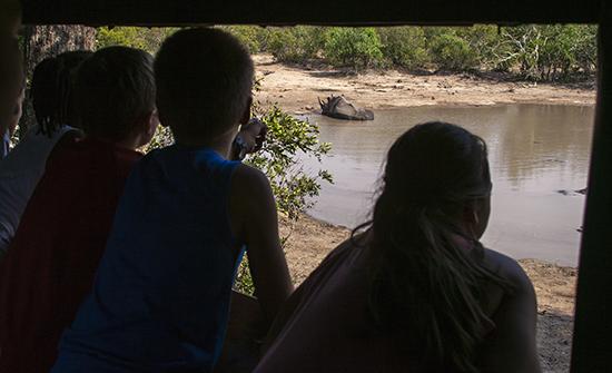 niños en Kruger National Park sudafrica