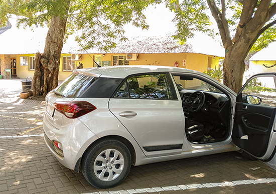 coches de alquiler en Kruger N.P