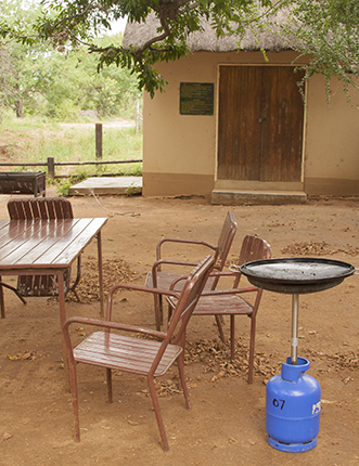 barbacoa gas picnic site Kruger