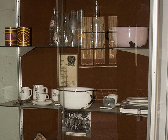 detalle museo campbell Skukuza camp Kruger