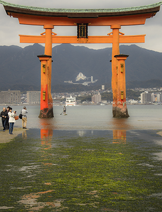 Actividades acuáticas Miyajima island Japan
