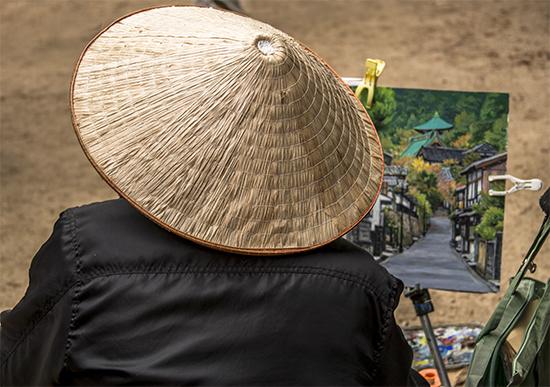 arte callejero en Japon