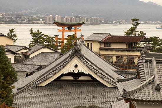 tejados de Miyajima Japon