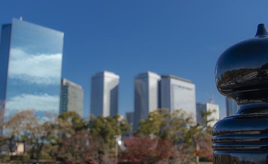 skyline Osaka