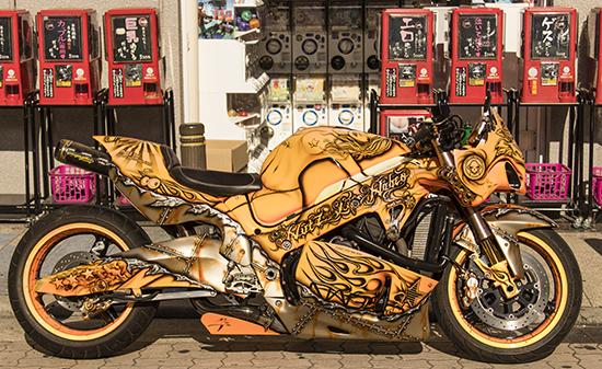 motos en Japón