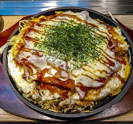 donde comer en Miyajima okonomiyakis