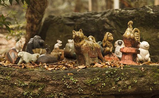 altar animales Japon
