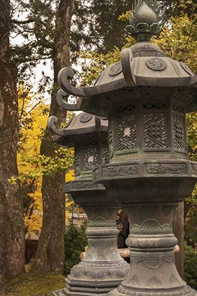 lamparas bronce Nara