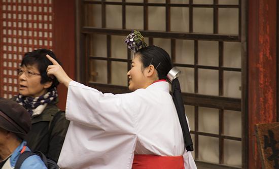 sacerdotisa Japón Nara