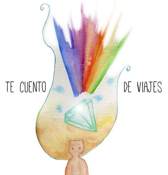 ilustraciones watercolor Te cuento de viajes