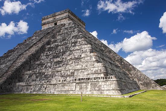 Chichen itza de día Mexico Yucatan