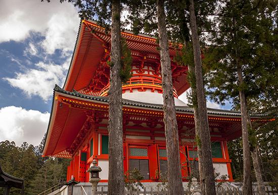 pagoda koyasan japon