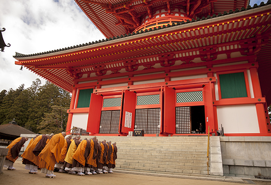 templo garan koyasan japon