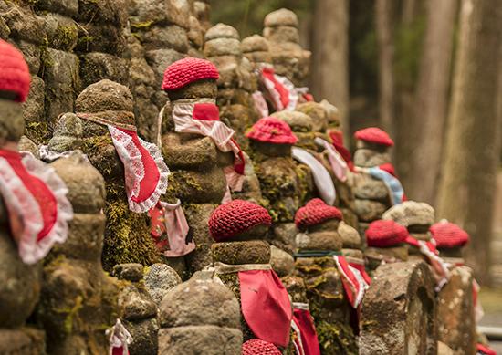 detalle jizos koyasan cementerio