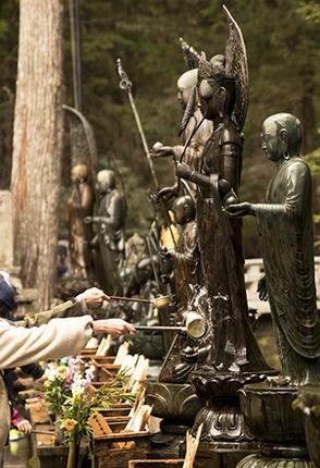 koyasan japon rituales