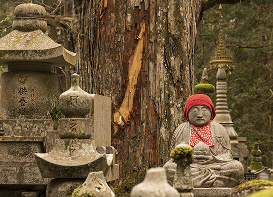monte koya cementerio japon