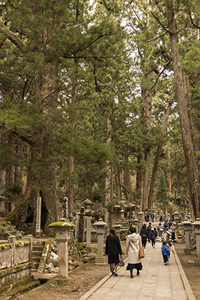 cementerio okunoin japon koyasan