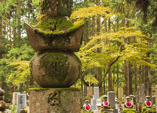 koyasan japon cementerio okunoin