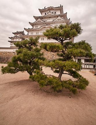 patio castillo Himeji