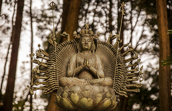 diosa Kannon Japon